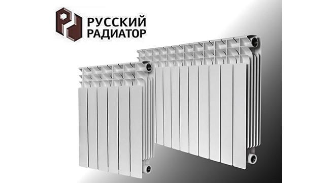 Радиатор биметаллический РУССКИЙ РАДИАТОР Корвет